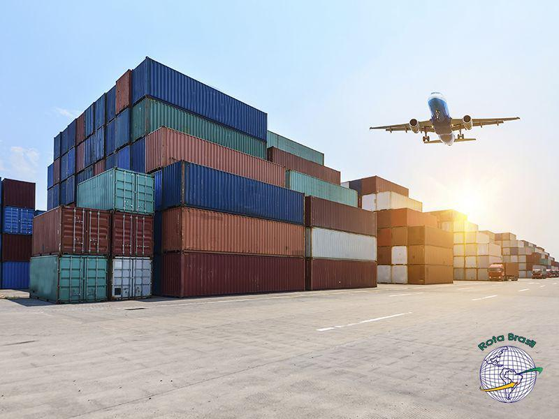 Serviço de logística internacional